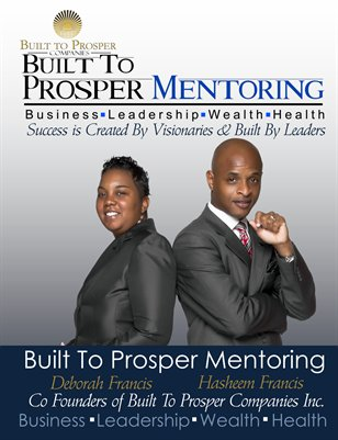 Built To Prosper Mentoring Brochure
