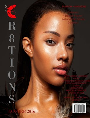 Cr8tions Magazine Jan/ Feb 2017 Issue (Shoniah Torres Cover)