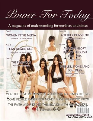 Power For Today Magazine, March/April 2013