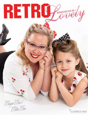 Retro Lovely Mother's Day 2019 Vol.1 - Mayzie Mac & Millie Mac Cover