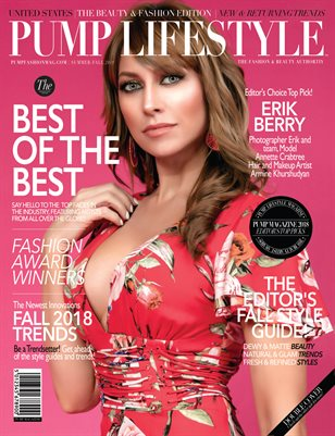 PUMP Lifestyle - The Beauty & Fashion Edition   October 2018 Vol.4