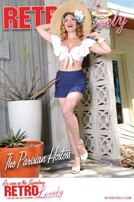 The Parisian Hostess Cover Poster
