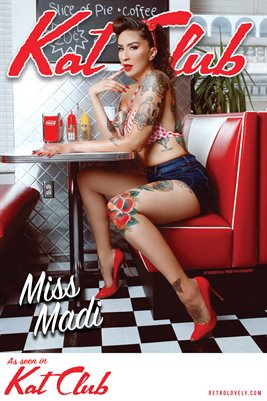 Kat Club No.37– Miss Madi Cover Poster