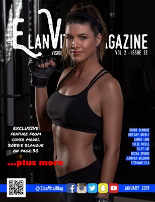 Elan Vital Magazine January 2019 Bobbie Cover