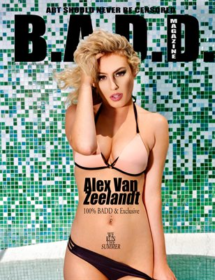 Alex Van Zeelandt Goes BADD (Exclusive Inside)