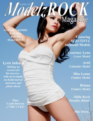 ModelzROCK Magazine - ISSUE ONE - Cover Model Courtney