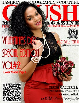 CRUSH Model Magazine 2013 Valentines Edition Vol2
