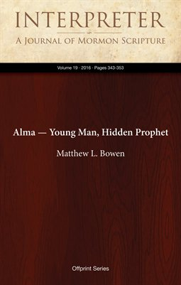 Alma — Young Man, Hidden Prophet