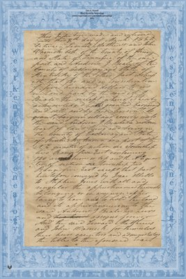 1850 Deed, Mathis & Warnick to Beale, Calloway County, Kentucky & Henry County, Tennessee