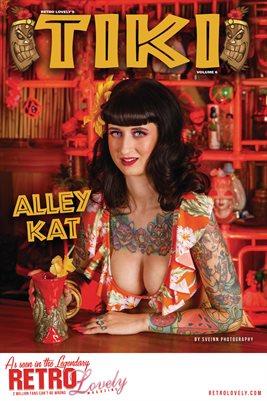 TIKI Volume 6 - Alley Kat Cover Poster