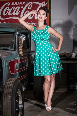 Kitty Courtney - Champion Hot Rods 3