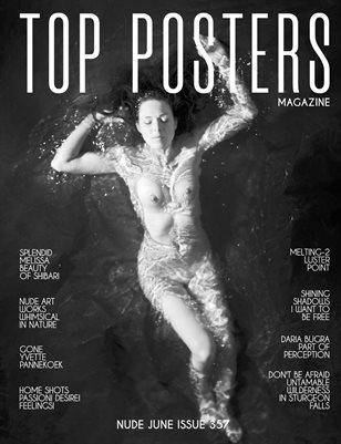 TOP POSTERS MAGAZINE- NUDE JUNE (Vol 357)
