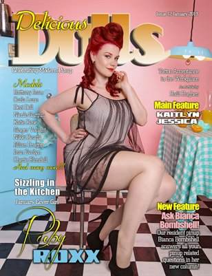 Delicious Dolls issue 12 - January Ruby Roxx
