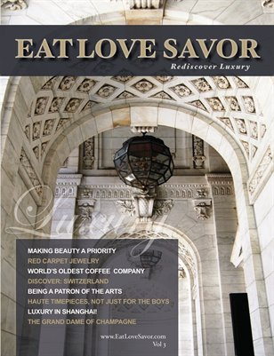 EAT LOVE SAVOR Magazine Vol 3