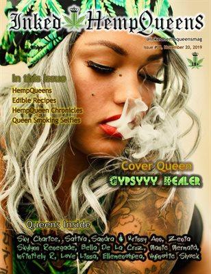 Inked HempQueens Magazine ~ Issue 8 ~ Gypsyyy Healer