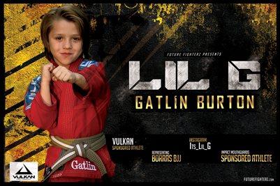Gatlin Burton Grunge Poster