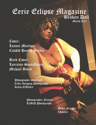Eerie Eclipse Magazine March 2021 Broken Doll Issue
