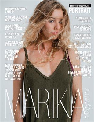 MARIKA MAGAZINE PORTRAIT (ISSUE 560 - January)
