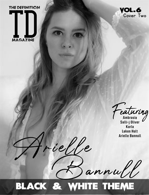 TDM: Arielle Bannull Black&White theme Vol.6 Cover 2