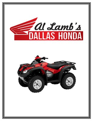 Al Lamb's Dallas Honda: 2016 Honda FourTrax 675 Rincon