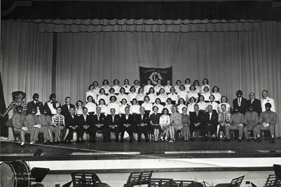 Lions Club's Minstrel Show 1952, Mayfield, Graves County, Kentucky