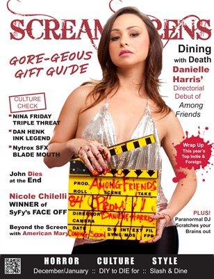 Scream Sirens Issue #2 Featuring Danielle Harris, Nicole Chilelli and Nina Friday. Collector Issue with No Advertisements.
