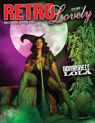 Halloween 2020 - VOL 5 – BOMBSHELL LOLA Cover