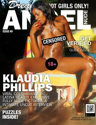 Dream Angel Nude Magazine #9 | Colombian Beauty Klaudia Phillips