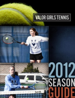 2012 Girls Tennis Season Guide