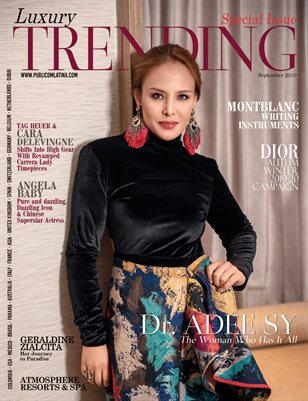LUXURY TRENDING Magazine (Special Edition) - Sept/2019 - Issue 22