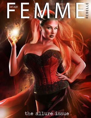 Femme Rebelle Magazine October 2020 ALLURE Issue - Dollhouse Cover