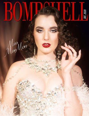 BOMBSHELL Magazine December 2020 - BOOK 2 Miss MonMon Cover