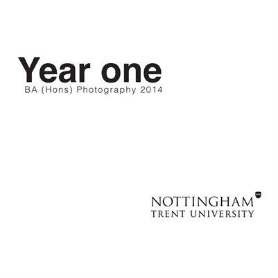 Year one BA (Hons) Photography 2014 NTU