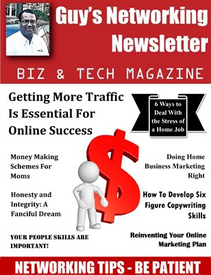 Guy's Networking Newsletter Biz and Tech Magazine November Issue