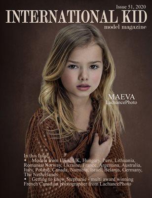 International Kid Model Magazine Issue #51
