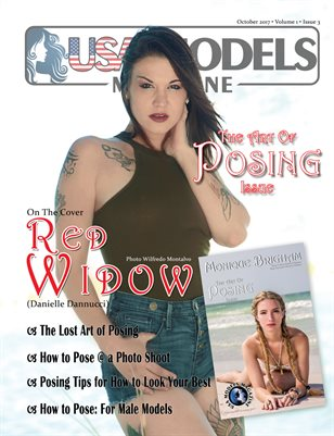USA Models Magazine • The Art of Posing • Oct 2017 Issue • Vol 1 • Issue 3