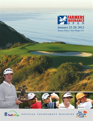 2012 Farmers Insurance Souvenir Program