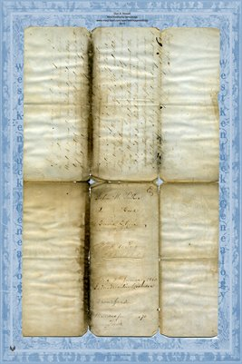 1860 Deed, Parker to Rose, Pike County, Missouri