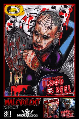 Malevolent - Blood On The Reel Poster