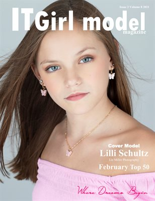 It Girl Model Magazine Issue 2 Volume 8 2021