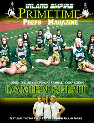 Inland Empire Prime Time Preps Magazine Damien Cheer Edition April 2012