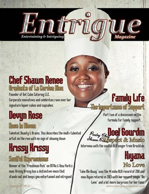 Entrigue Magazine January 2013