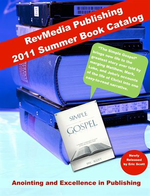 2011 Summer RevMedia Publishing Book Catalog