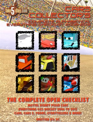 The Complete Everything CARS Open Checklist 2006-2013 (UPDATED!)