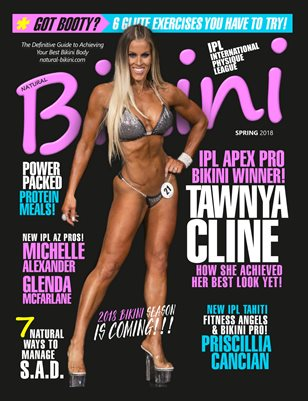 Natural Bikini Magazine Issue #29 - Spring 2018 - Cover: Tawnya Cline