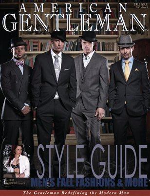 American Gentleman Fall Style Guide 2012