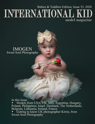 International Kid Model Magazine Issue #53 Babies & Toddlers