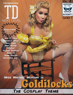 TDM Cosplay VOl.2 Miss Whitney Morgan Cover1