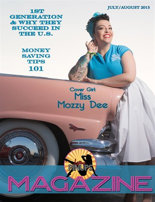 Latina Pinups Magazine: July/Aug 2015 issue