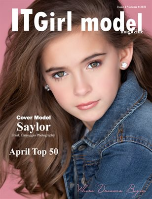 It Girl Model Magazine Issue 4 Volume 8 2021 April Top 50